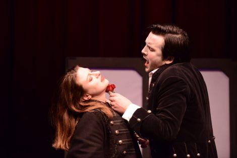 Catherine Backhouse and William Morgan in Opera Highlights, Scottish Opera 2018. Photo: Tommy Ga-Ken Wan