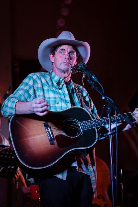 Rich Hall performing last year. Photo: John Zumpano.
