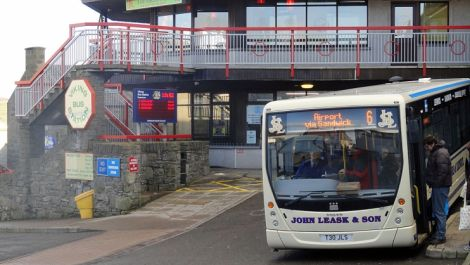 Buses in Shetland will soon be fitted with a new smart ticketing system. Photo: Shetland News