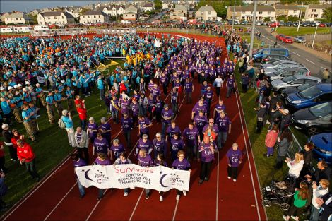 Photo from Shetland Relay For Life.