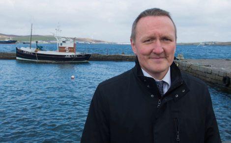 SIC development director Neil Grant. Photo: Shetland News.