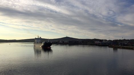 Shetland's seafood industry is calling on the Scottish government for the Northern Isles ferry contract to go out to tender rather than taken in-house. Photo: Shetland News