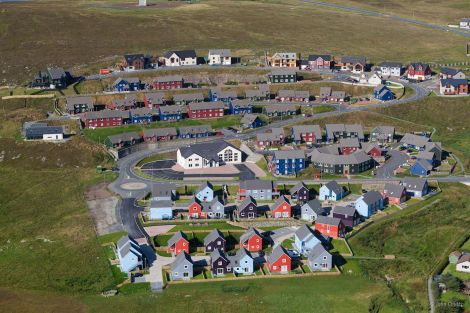 The affordable housing development at Quoys.