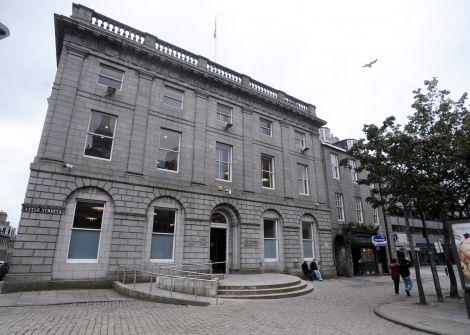 Aberdeen High Court. Photo courtesy of Press & Journal.