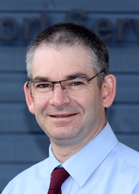 NHS Shetland's Simon Bokor-Ingram. Photo: Shetland News