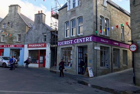 The Shetland tourist office in Lerwick. Photo: Hans J Marter/Shetland News