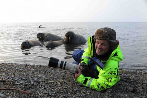 Doug Allan will share his lifework with a Shetland audience in November.