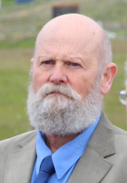 Book author Simon Gunn.