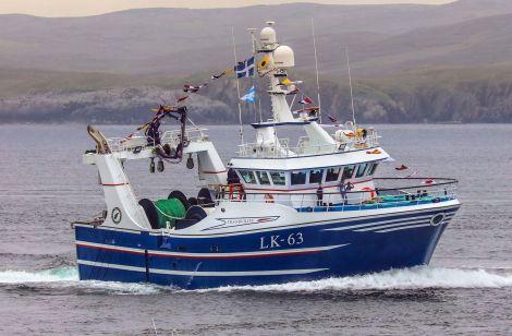 Shetland's latest trawler, Tranquility
