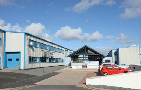 Shetland College's main Gremista campus.