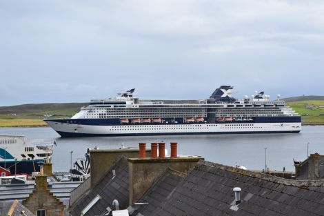 Shetland Amenity Trust is keen to explore what is offered to cruise ship passengers who visit the isles. Photo: Shetland News