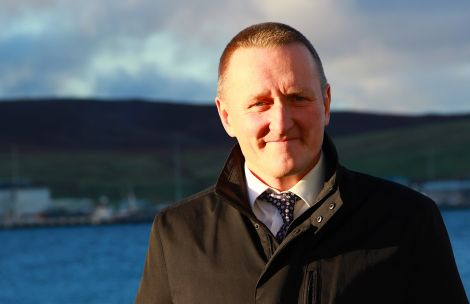 Head of the SIC development department Neil Grant. Photo: Shetland News