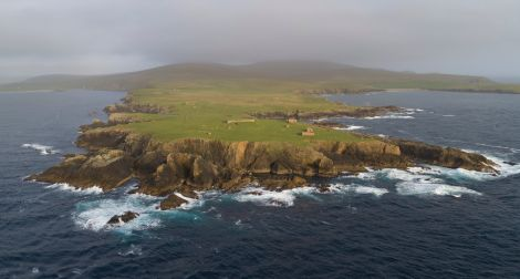 Lamba Ness in Unst where Shetland Space Centre proposes to build a commercial satellite launch base. Photo: Shetland Space Centre