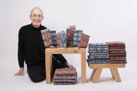 Mary Macgregor with some of her collection. Photo: Liam Henderson