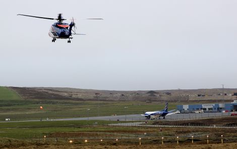 Scatsta Airport. Photo: Shetland News