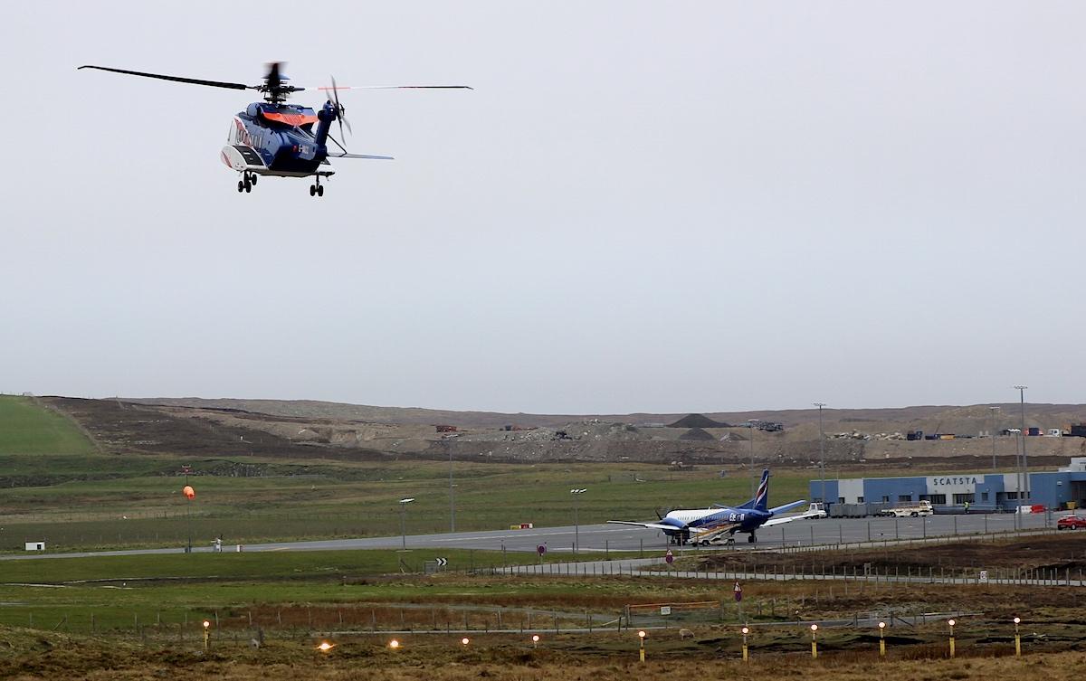 Scatsta Airport. Photo: Shetland News