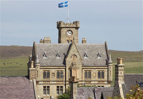 Lerwick Town Hall. Photo: Shetland News