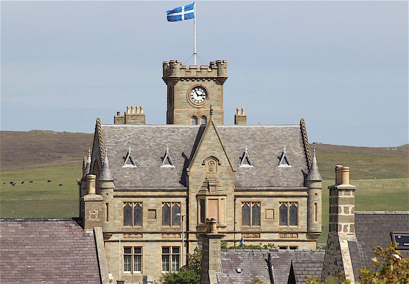 Lerwick Town Hall. Photo: Shetland News