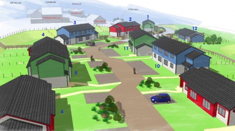 A snapshot of what part of the development could look like.
