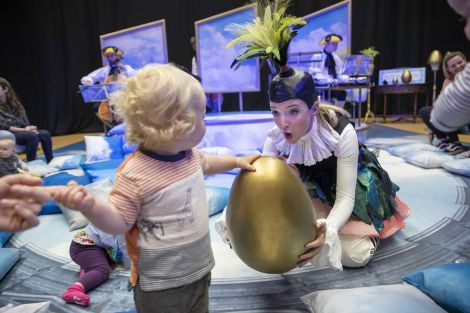 The opera for babies is aimed at six to 18 month olds. Photos: Scottish Opera