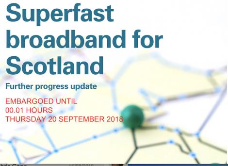 Audit Scotland report on superfast broadband