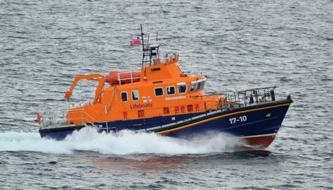 Lerwick lifeboat. Photo: Mark Berry