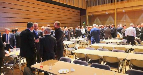 The oil and gas meeting at Mareel